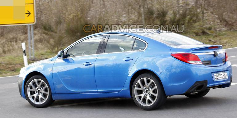 2009 Opel Insignia OPC spied and rendered
