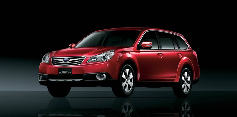 2009 Subaru Liberty and Outback revealed