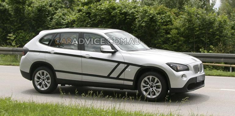 2011 BMW X1 SUV spied almost undisguised
