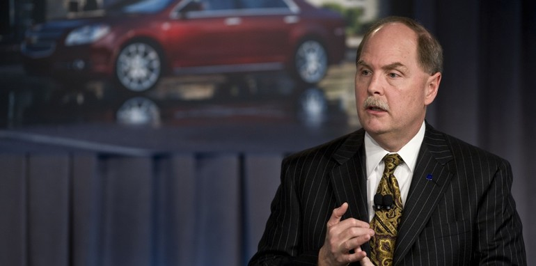 Henderson Holds First Conference as GM President and CEO