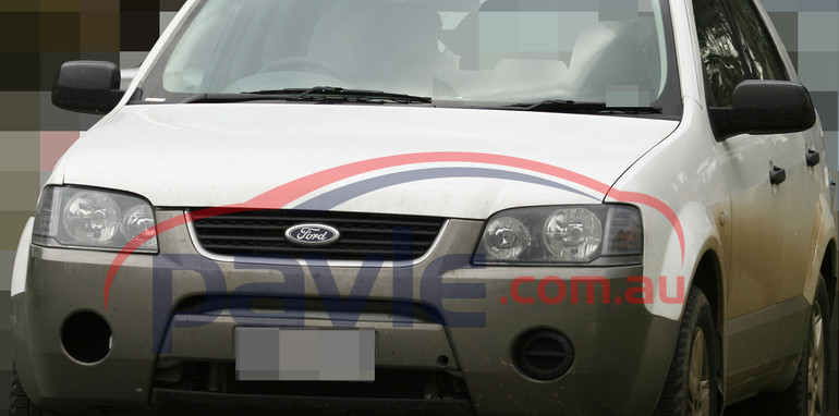 2010 Ford Territory Diesel Spy Photos