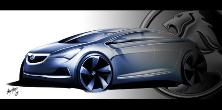 GM Holden's small car conceptual design