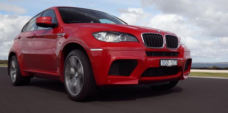 BMW X6 M on track 2