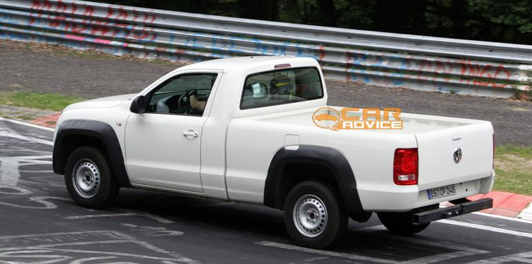 volkswagen amarok single cab ute at the ring. Black Bedroom Furniture Sets. Home Design Ideas