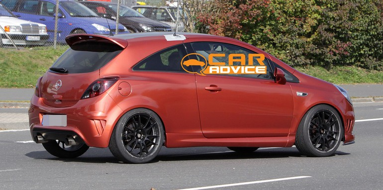opel corsa opc n rburgring edition spy photos. Black Bedroom Furniture Sets. Home Design Ideas