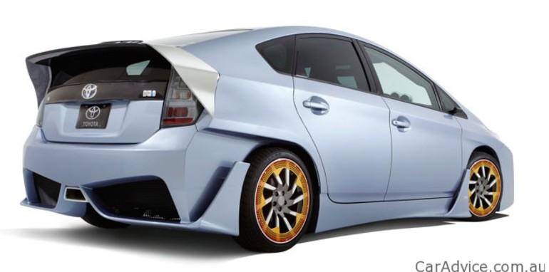 Used Toyota Prius >> Toyota Prius C&A Custom Concept at SEMA