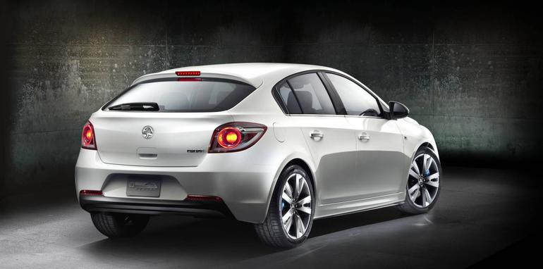 Holden Cruze Hatch Concept At Australian International