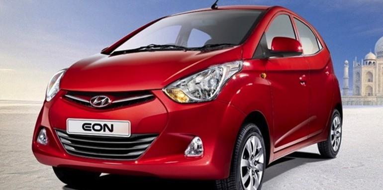 hyundai eon sub compact car debuts in india. Black Bedroom Furniture Sets. Home Design Ideas