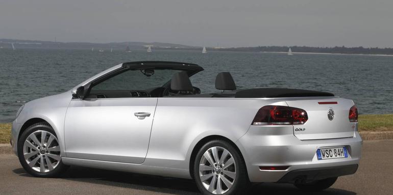 2012 volkswagen golf cabriolet on sale in australia. Black Bedroom Furniture Sets. Home Design Ideas