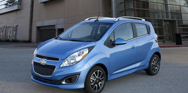 2013 Chevrolet Spark Revealed Holden Barina Spark Timing