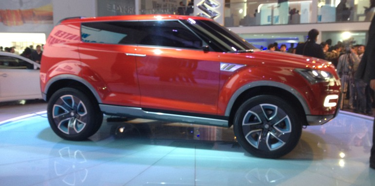maruti suzuki xa alpha concept previews new compact suv. Black Bedroom Furniture Sets. Home Design Ideas