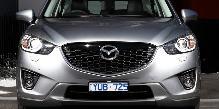 Mazda Grand Touring With Parking Sensors