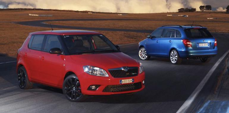 Skoda Fabia RS Hatch and Wagon - 1