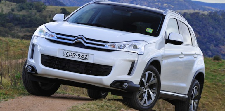 citroen c4 aircross french brand s first suv from 31 990. Black Bedroom Furniture Sets. Home Design Ideas