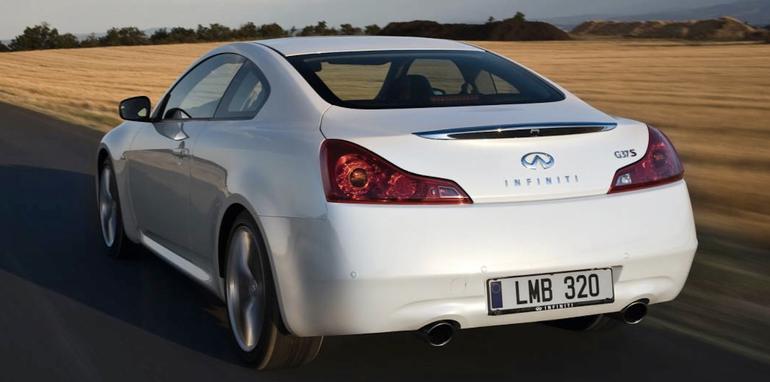 Infiniti G37 Coupe - Rear