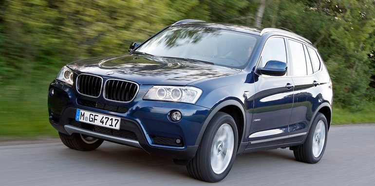 BMW X3 Front Side