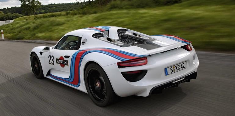 Porsche 918 Spyder Martini - 2