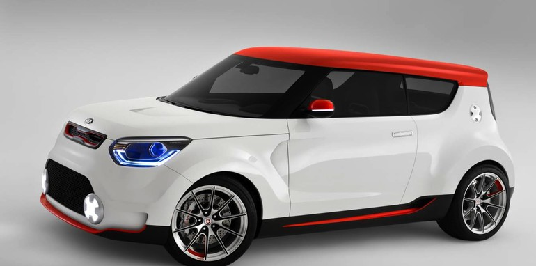 Kia Trackster concept tests the water for Soul hothatch