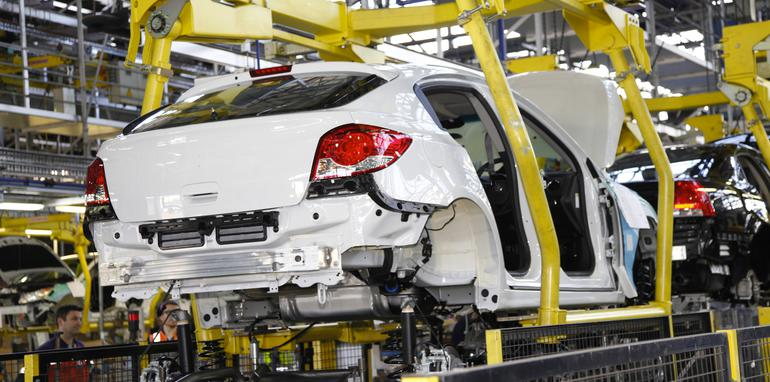 Holden Cruze manufacturing