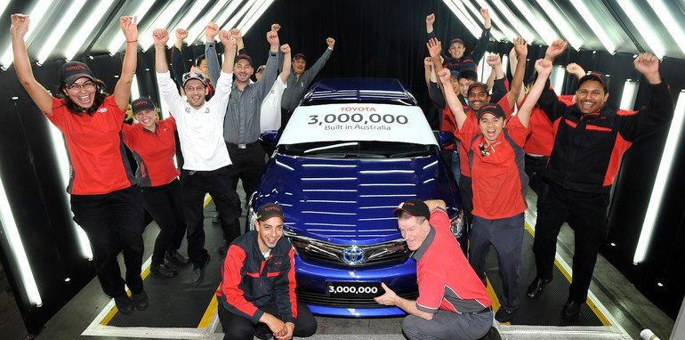 Toyota's 3 Millionth Car