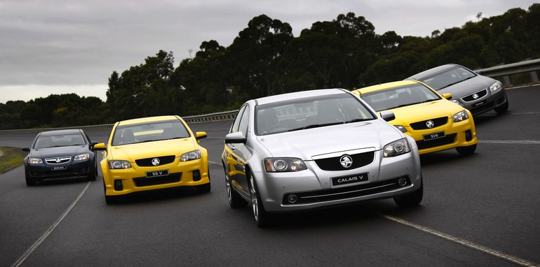 Holden VE Commodore Range