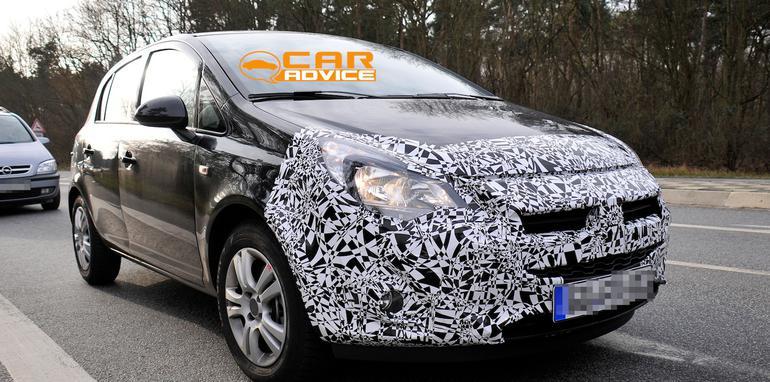 Opel Corsa Spied - 4