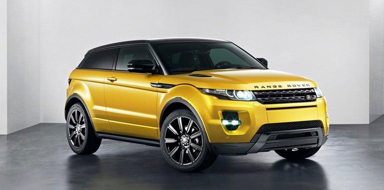 Range Rover Evoque Sicilian Yellow Limited Edition - 2
