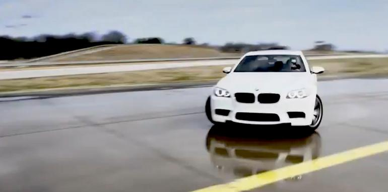 BMW M5 Drifiting Record