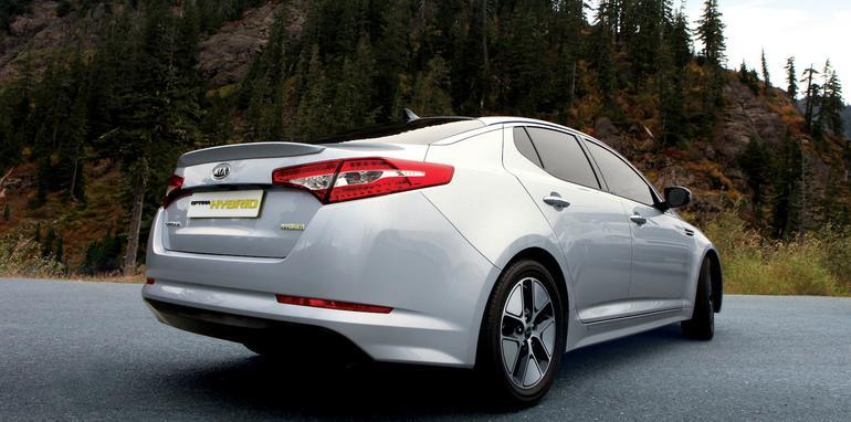 Kia Optima Hybrid - 2