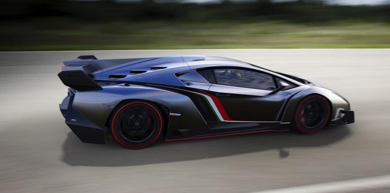 Lamborghini Veneno profile