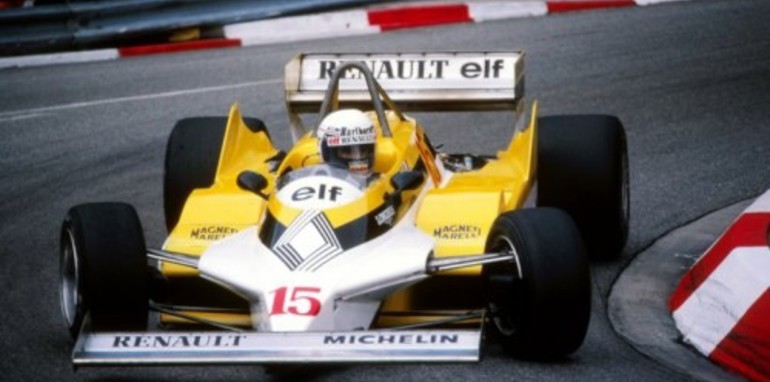 Renault RE30 - 1981 Monaco GP