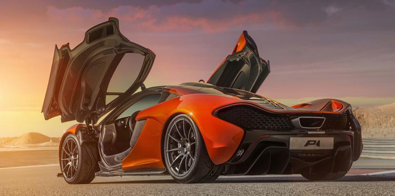 McLaren P1 at BIC - 3