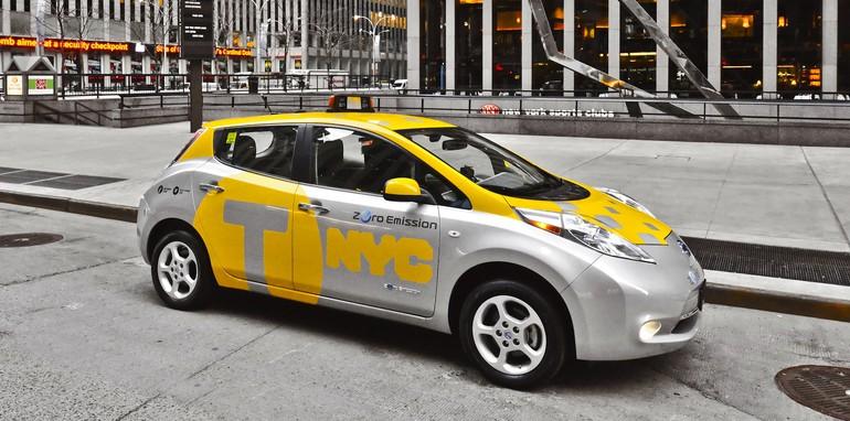 Nissan Leaf Taxi Pilot - 4