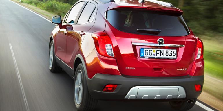 Opel Mokka rear driving