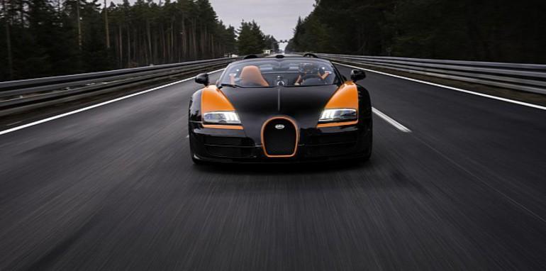 bugatti veyron grand sport vitesse world record run video. Black Bedroom Furniture Sets. Home Design Ideas