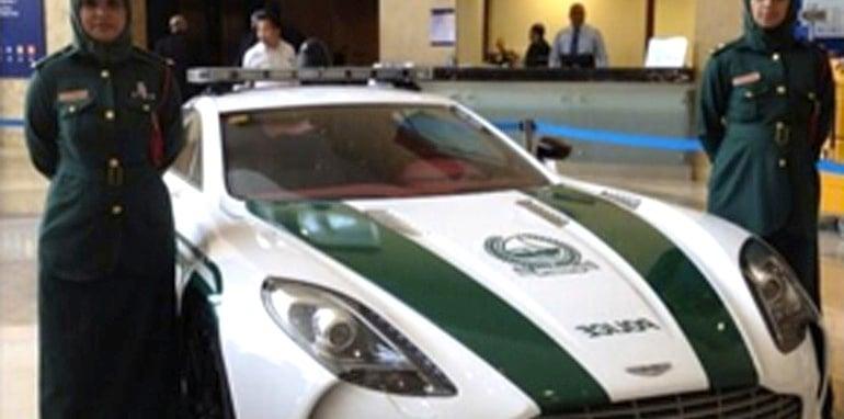 Aston Martin One-77 Dubai Police