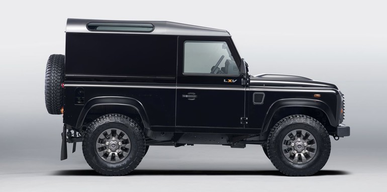 Land Rover Defender Lxv Special Edition Revealed
