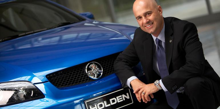 Holden Chairman and Managing Director, Mike Devereux