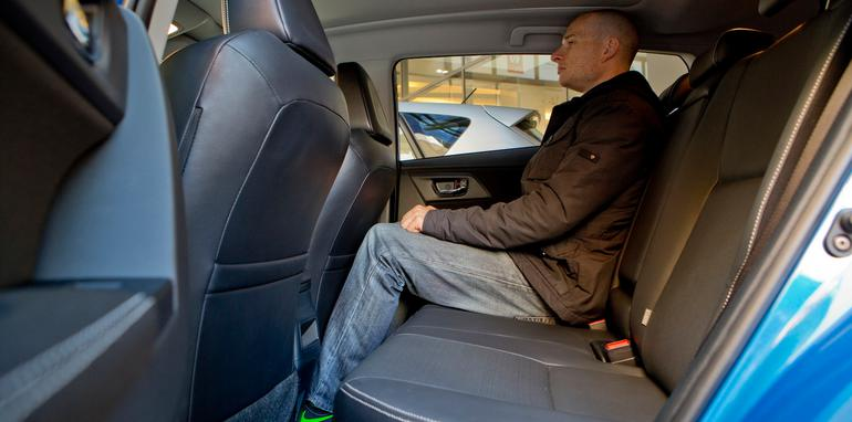 Toyota Corolla - Rear Legroom