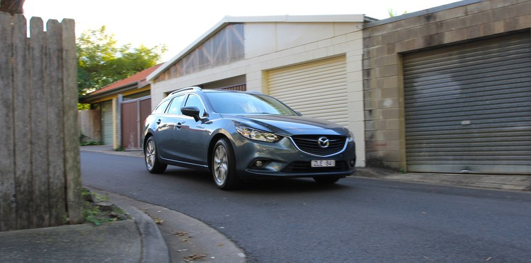 Holden VF Sportwagon Vs Mazda 6 Touring - 44