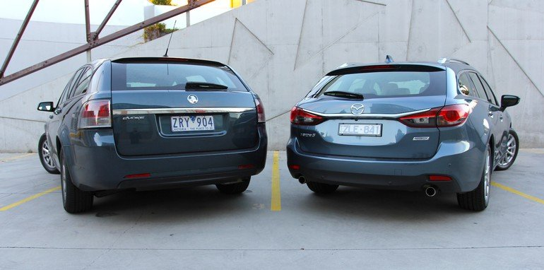 Holden VF Sportwagon Vs Mazda 6 Touring - 5