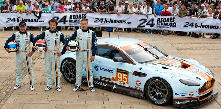 No 95 Aston Martin Vantage GTE