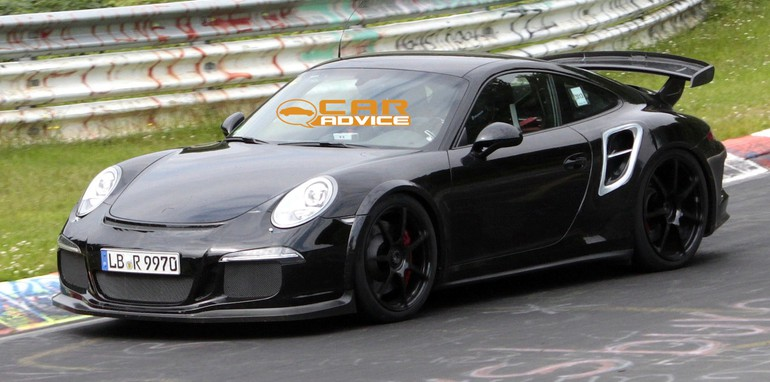 Porsche 911 GT2 Spied - 2