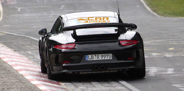 Porsche 911 GT2 Spied - 7