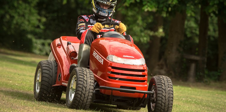 Honda Mean Mower - 3