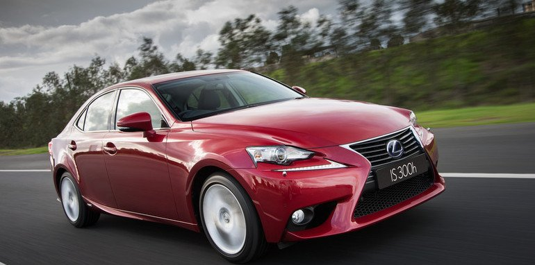 2013 Lexus IS 300h Luxury