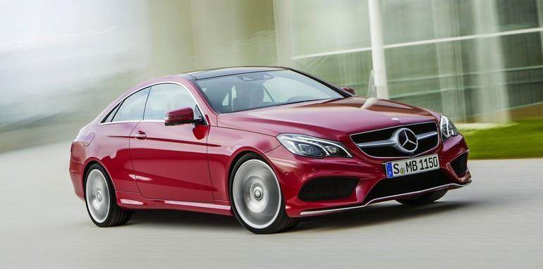 Mercedes-Benz E-Class Coupe - 1