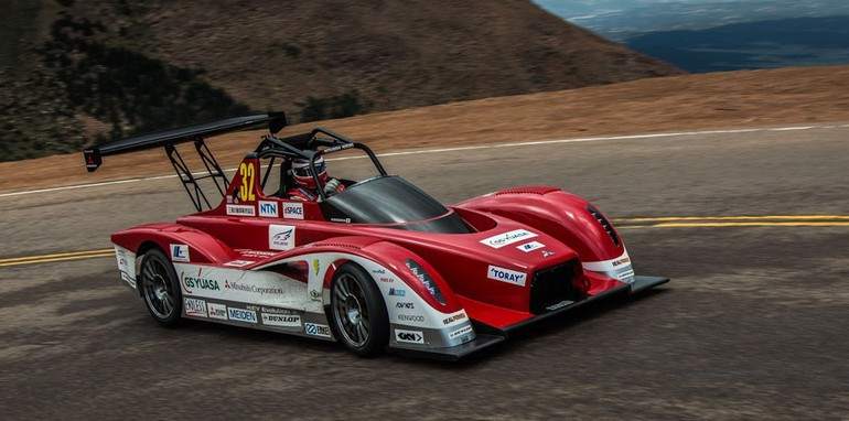 MITSUBISHI MOTOR SALES OF AMERICA, INC. 2013 PIKES PEAK INT. HILL CLIMB