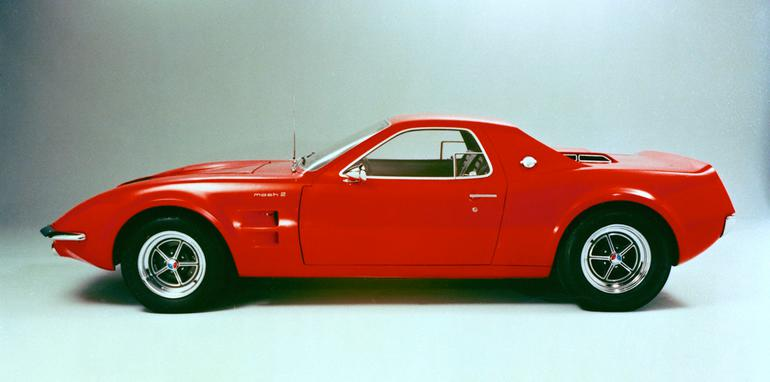 Ford Mustangs That Never Were: 1967 Mach 2 concept