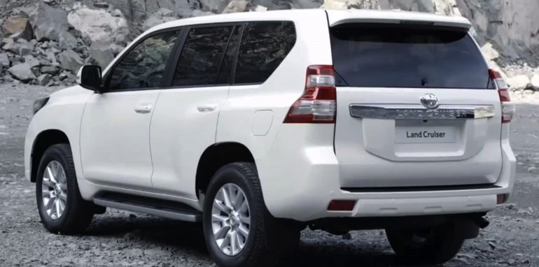 2014 Land Cruiser Prado Facelift Leaked - 4